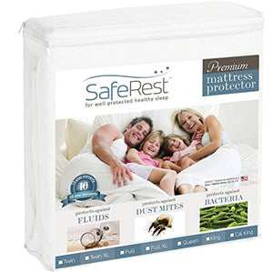 SafeRest Queen Size Waterproof Mattress Protector