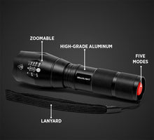 Load image into Gallery viewer, LED Tactical Flashlight