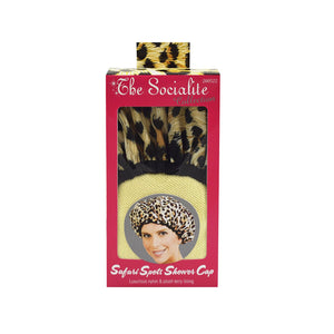 Betty Dain Terry Lined Shower Cap