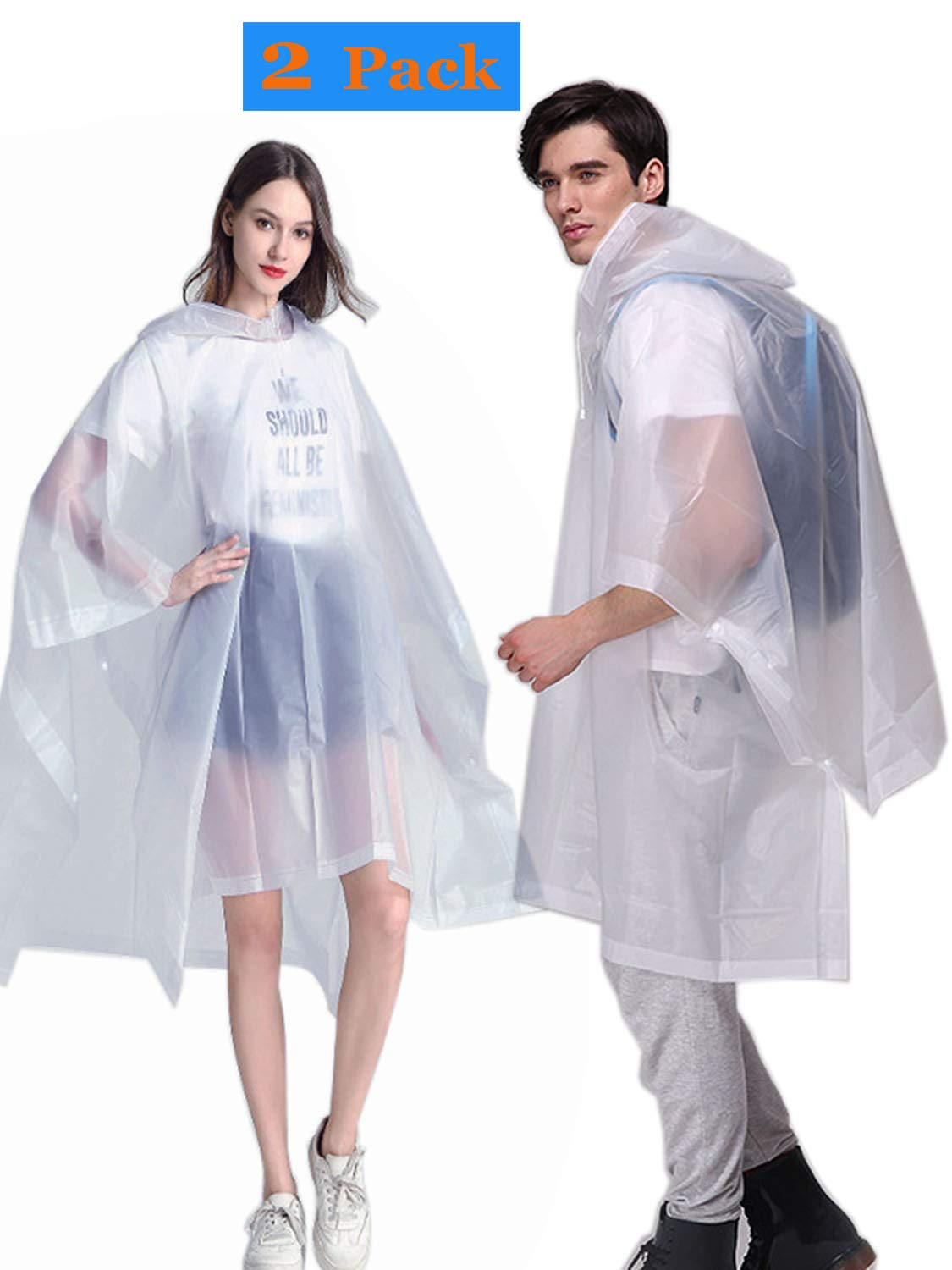 Rain Ponchos for Adults
