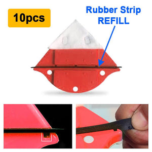 PlusProtections™️ Window Cleaning Rubber Strip (10pcs)