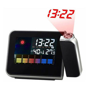 Projector Alarm Clock with Weather Forecast