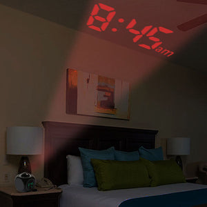 Talking Projector Alarm Clock