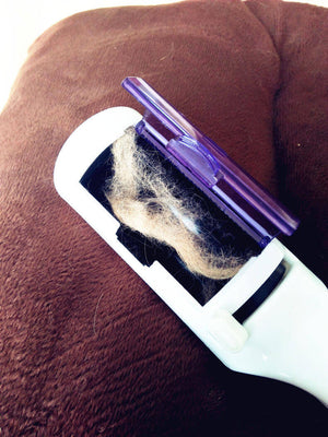 Static Pet Fur Remover Brush