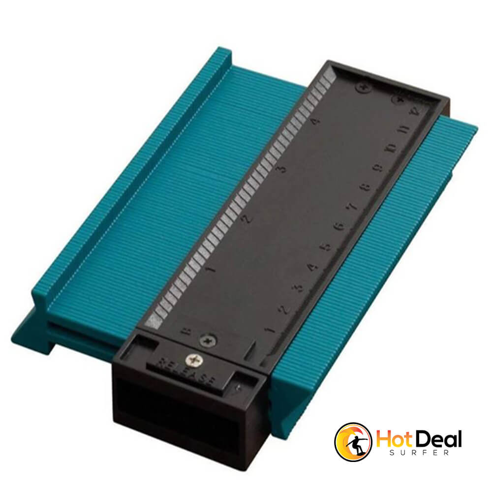 Plastic Profile Copy Contour Gauge Duplicator Wood MarkingTiling Laminate Tiles Edge Shaping Ruler ABS General Tools
