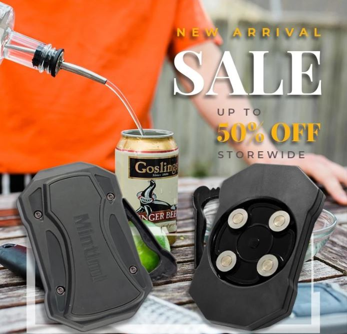 Go Swing™ Topless Can Opener