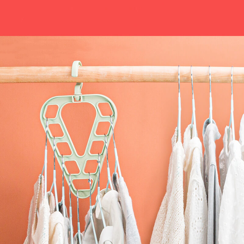 NeatCloset™️ 9-in-1 TRIANGLE Hanger (Set of 4)