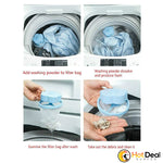 Laundry Lint and Pet Fur Remover Catcher Filtering Hair Removal  Washing Machine Filter Bag Remover Universal Net Decontamination Filter Laundry Bags