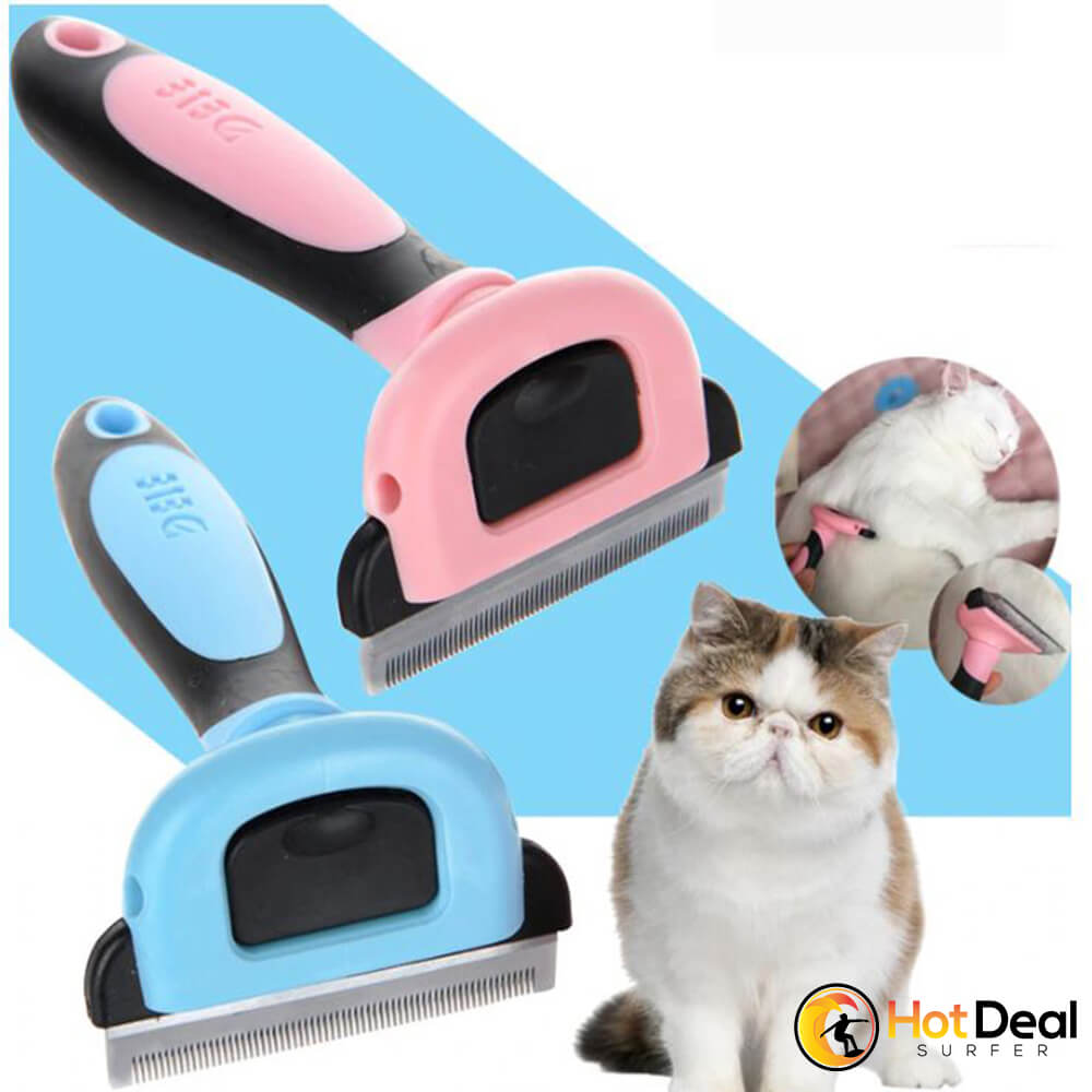 Combs Dog Hair Remover Cat Brush Grooming Tools Detachable Deshedding Clipper Attachment Pet Trimmer for Pet Supply Furmins