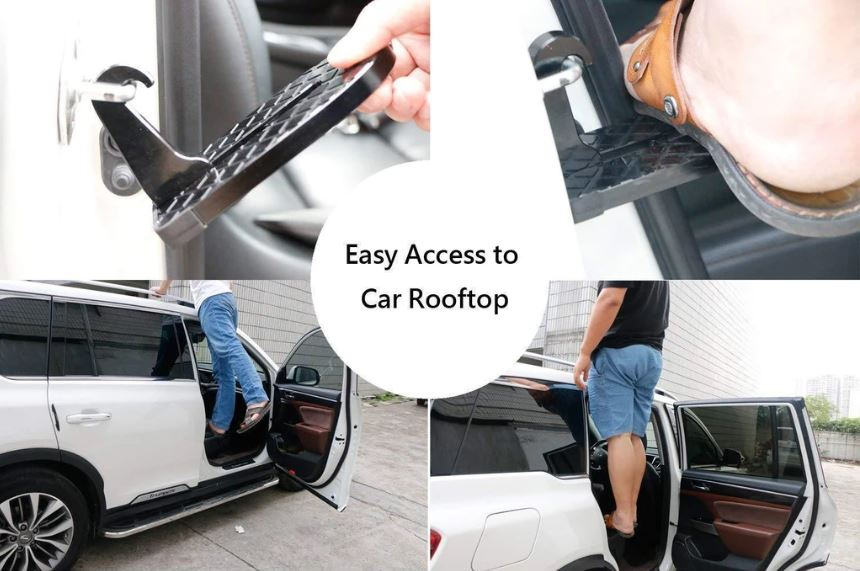Multifunction Foldable Car Rooftop Rack
