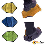 1 Pair Reusable Shoe Cover One Step Hands-free Sock Shoe Covers Durable Portable Automatic Shoe Organizers House Dust Cover