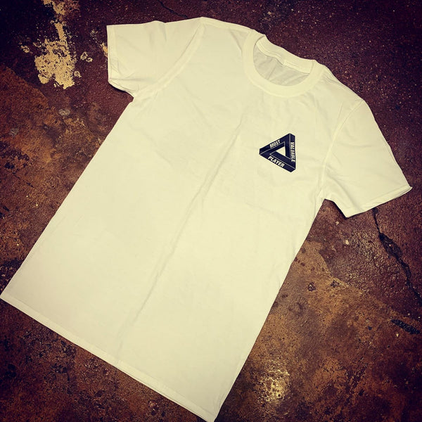 MVP Triangle Logo T-shirt - White