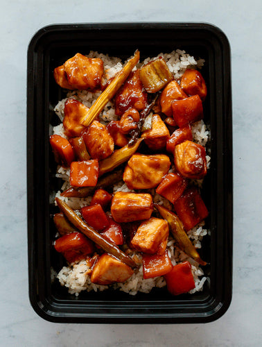 Family-Sized Gochujang Chicken Stirfry