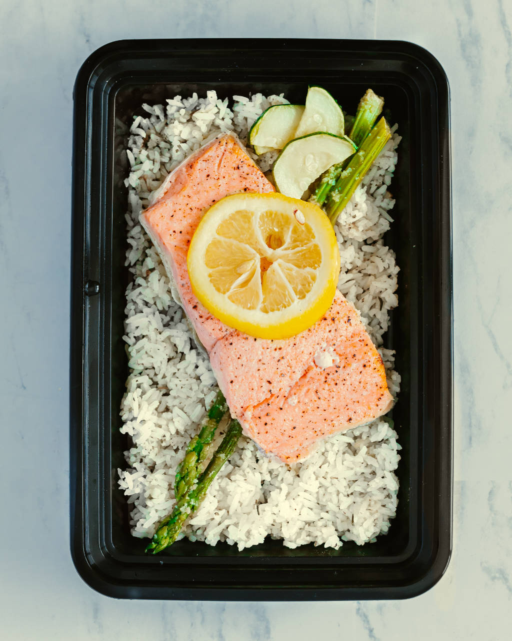 Family-Sized Lemon Glazed Salmon