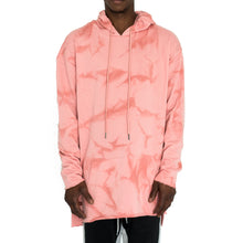 Load image into Gallery viewer, RAW EDGE LONG MARBLED HOODIE - FXN menswear
