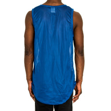 Load image into Gallery viewer, BIRDSEYE MESH MUSCLE TANK - ROYAL BLUE - FXN menswear