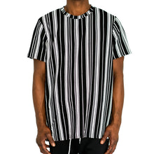 Load image into Gallery viewer, STRAIGHTUP STRIPES - BLACK/WHITE - FXN menswear