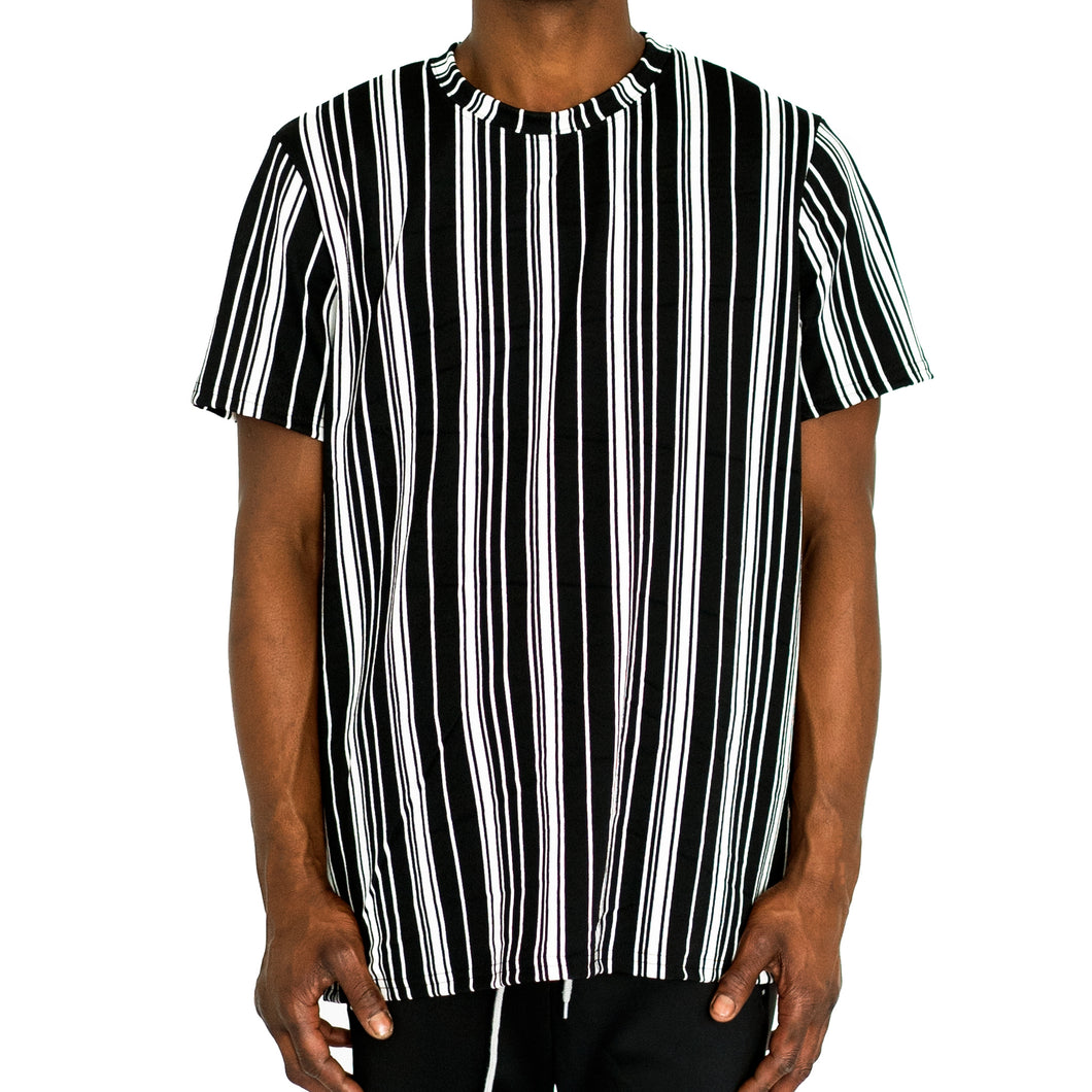 STRAIGHTUP STRIPES - BLACK/WHITE - FXN menswear