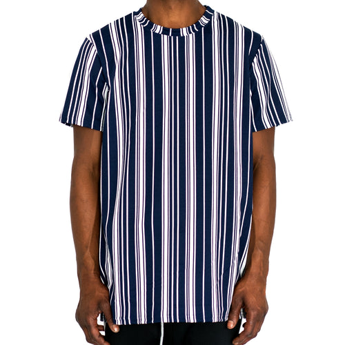 STRAIGHTUP STRIPES - NAVY BLUE - FXN menswear
