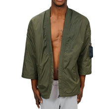 Load image into Gallery viewer, OLIVE KIMONO BOMBER JACKET - UNISEX - FXN menswear