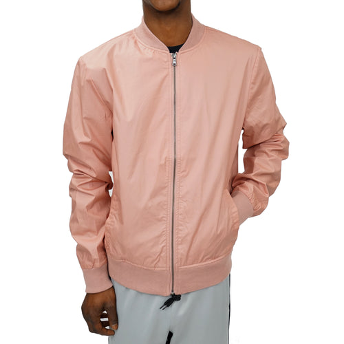 COATED COTTON BOMBER UNISEX - DUSTY ROSE - FXN menswear