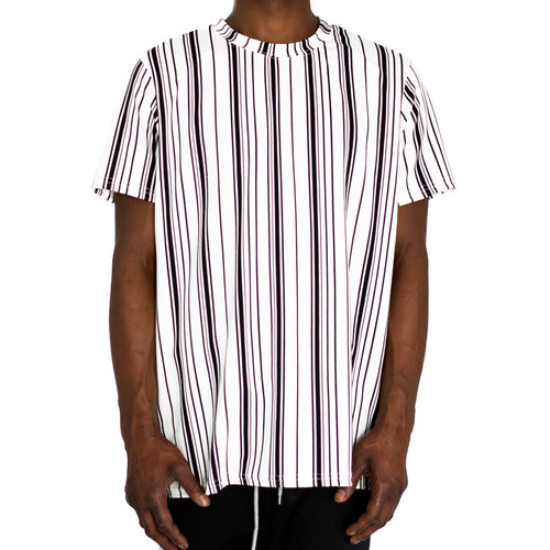 STRAIGHTUP STRIPES - WHITE/BLACK - FXN menswear