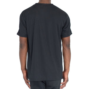 QUICK-DRY ATHLETIC TEE - BLACK/GREY - FXN menswear