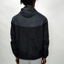 Load image into Gallery viewer, COLORBLOCK WINDBREAKER - GUNMETAL/BLACK - FXN menswear