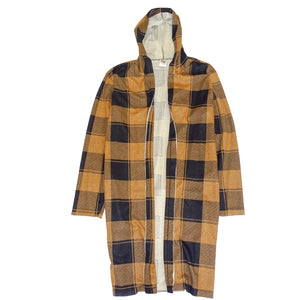 PLAID FLANNEL SWEATER COAT - FXN menswear