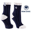 Penn State University Warm Fuzzy Cozy Crew Socks