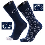 Penn State University A Monday<br /> And A Tuesday 2-Pack Dress Socks
