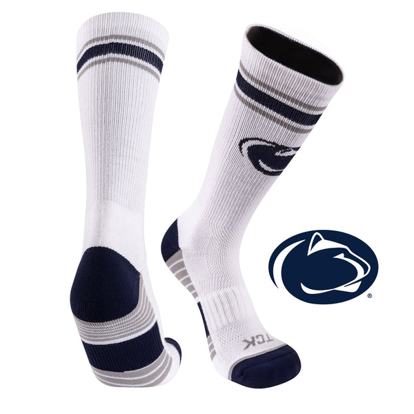Penn State University Greekster Performance Athletic Crew Socks