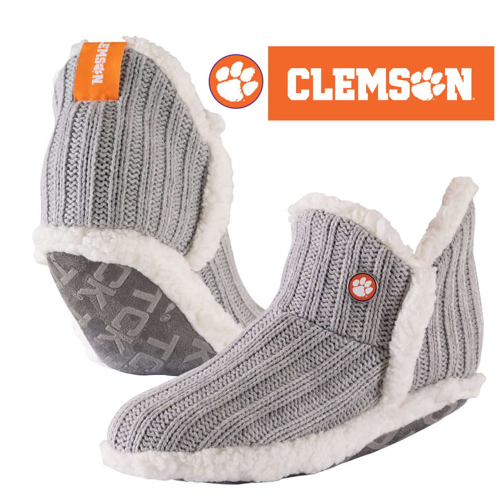 Clemson University Alpenglow Cozy Slipper Socks