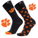 Clemson University A Monday and A Tuesday 2-Pack Dress Socks