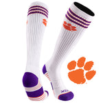 Clemson University Old School Over the Calf Performance Athletic Socks