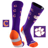 Clemson University Team Screamer Performance Athletic Crew Socks