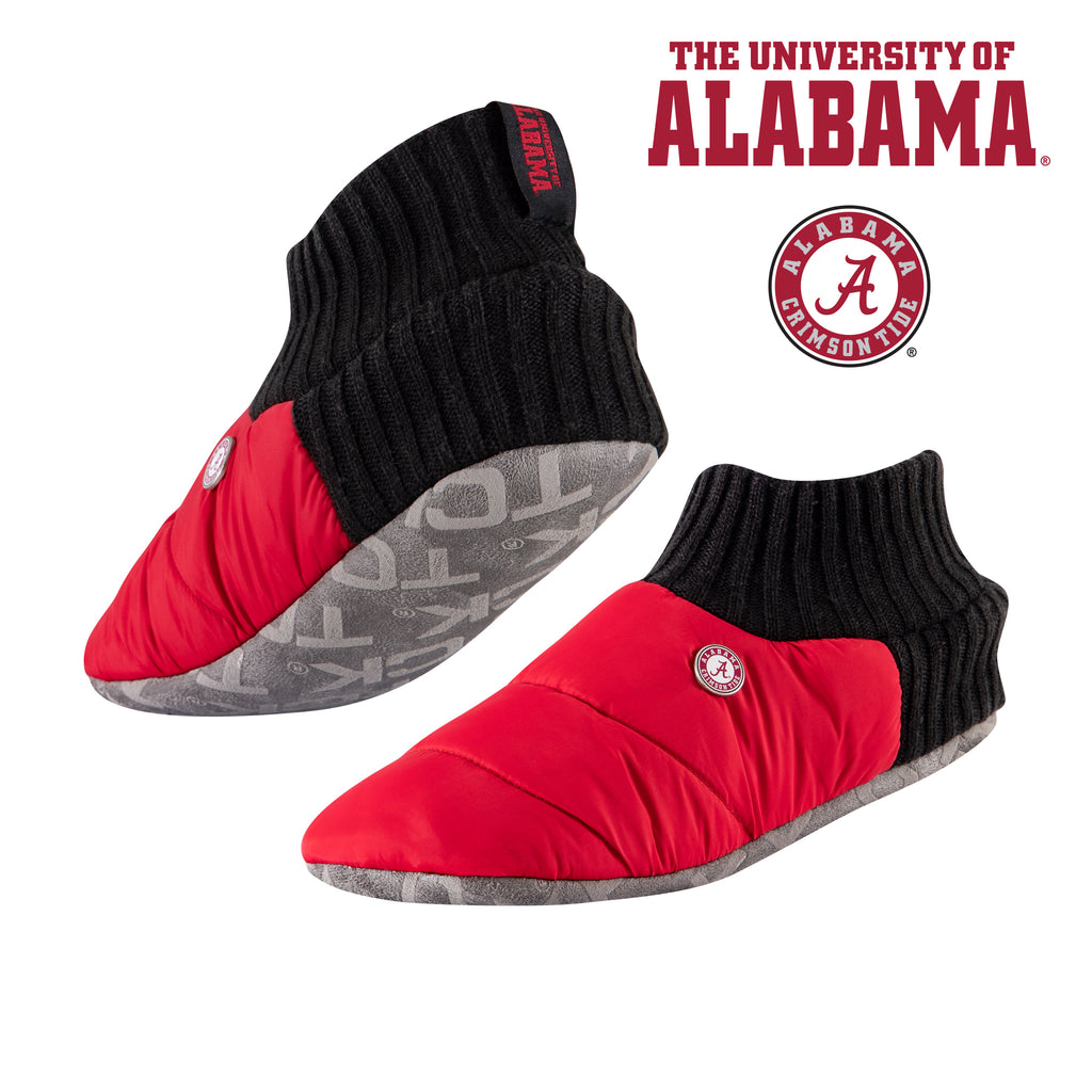 University of Alabama Happy Camper Cozy Slipper Socks