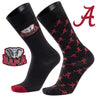 University of Alabama A Monday and A Tuesday 2-Pack Dress Socks