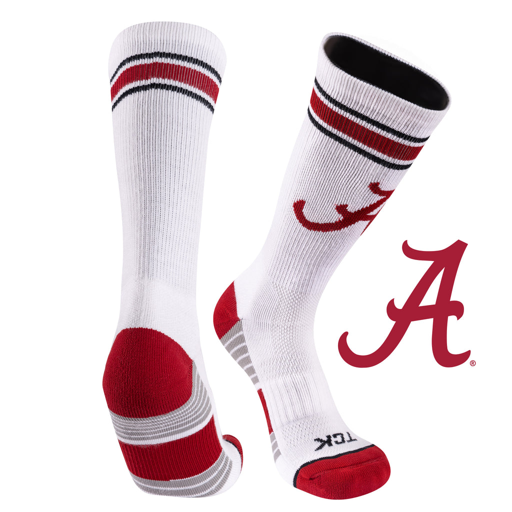 University of Alabama Greekster Performance Athletic Crew Socks