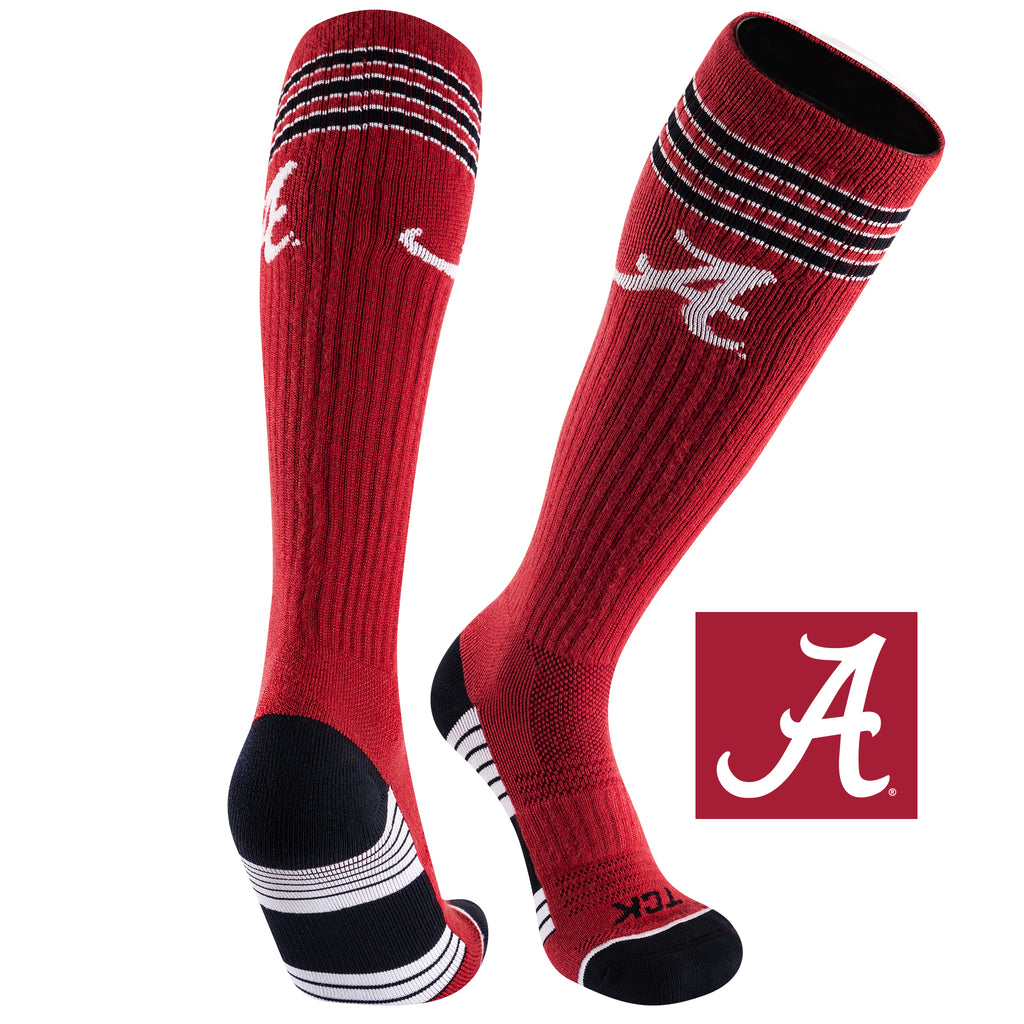 University of Alabama Old School Over the Calf Performance Athletic Socks