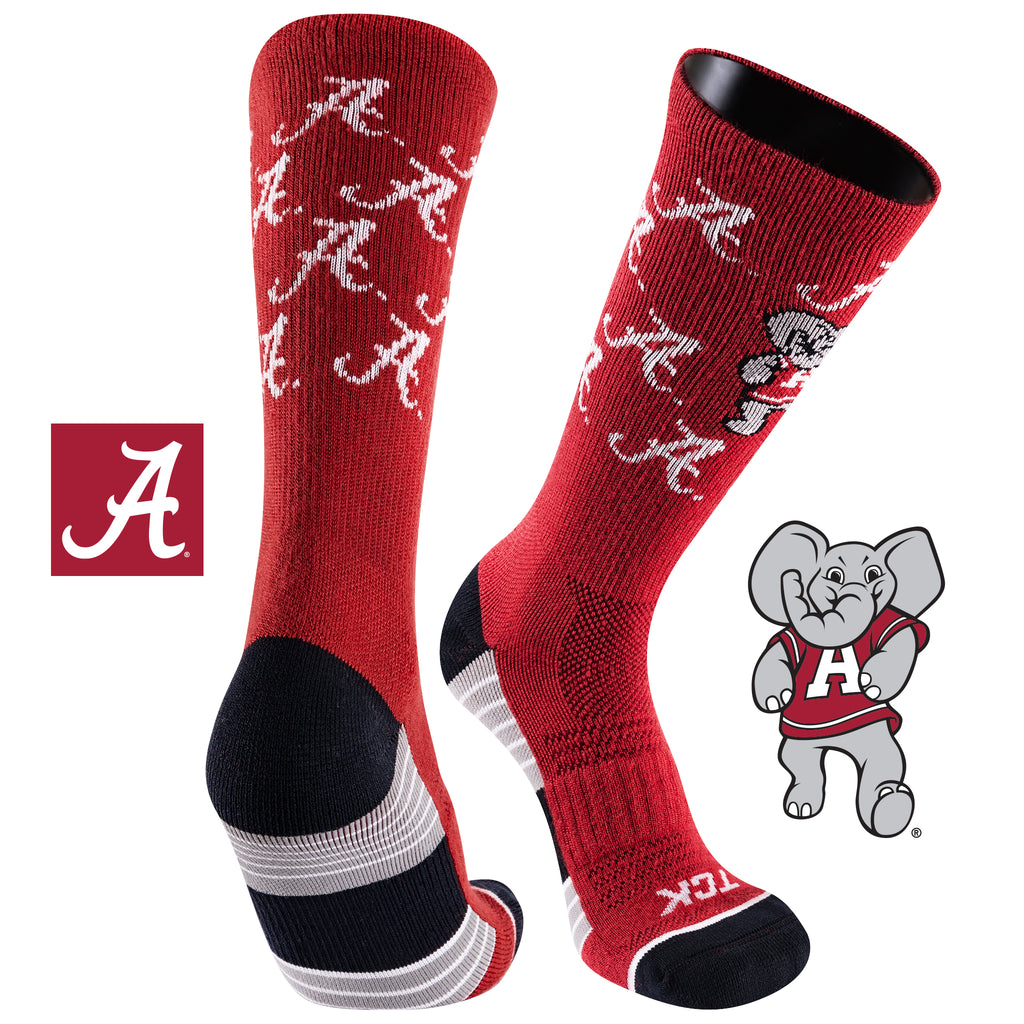 University of Alabama Team Screamer Performance Athletic Crew Socks