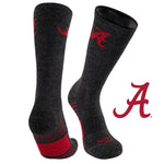 University of Alabama Far Trek Full Cushion Pure Merino Wool Crew Socks