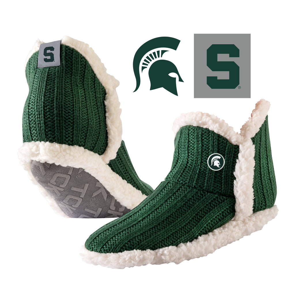 Michigan State University Alpenglow Cozy Slipper Socks