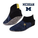 University of Michigan Happy Camper Cozy Slipper Socks