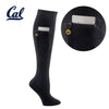 University of California Berkeley Miss Zippy Zip Pocket Knee High in Solid Black