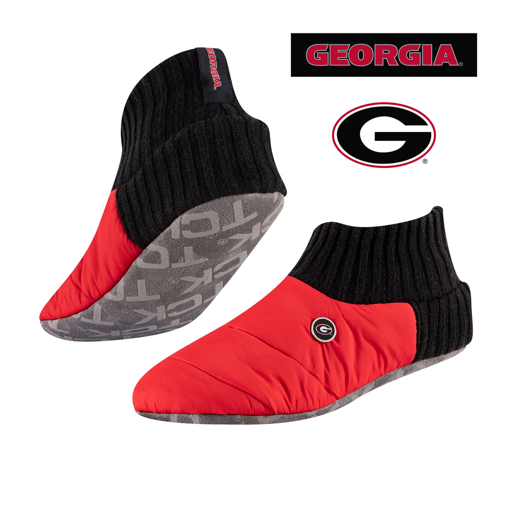 University of Georgia Happy Camper Cozy Slipper Socks
