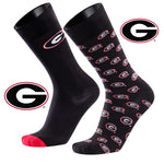 University of Georgia A Monday and A Tuesday 2-Pack Dress Socks