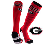 University of Georgia Old School Over the Calf Performance Athletic Socks