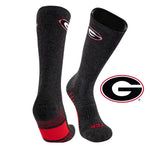 University of Georgia Far Trek Full Cushion Pure Merino Wool Crew Socks