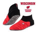 University of Wisconsin Happy Camper Cozy Slipper Socks